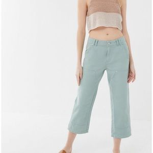 Urban outfitters high waist cropped pants